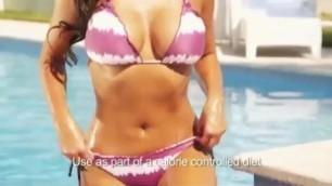 Kim Kardashian QuickTrim advert UK