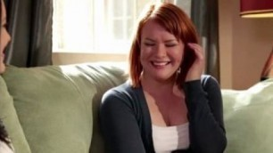 MILF Kimberly Kane licks and finger fucks babysitter Claire Robbins