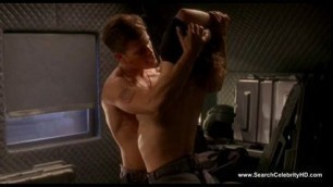 Dina Meyer Naked Starship Troopers