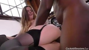 Cuckolded With Hung Ebony Lover Porn Theporndude