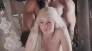 Karl Drogo Bangs Khalessi Forced Fuck