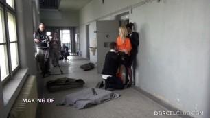 MAKING OF PRISON Shooting porn scene Lola Reve Alexis Crystal Ferrera Gomez