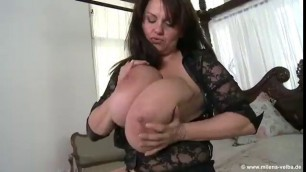 Monster Breasts In Play Stuck And Fucked