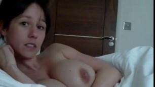 Huge Boobs British Masturbates Yespornplease
