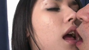 Famous Japanese slut Maria Ozawa gets her hairy cunt licked Porn