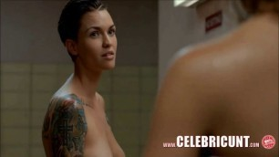 Sexy Celeb Nude Ruby Rose Perfect Tits & Butt