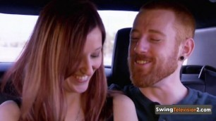 Couples let loose at the swing party's pre celebration