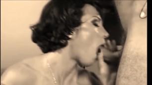RETRO CUMPILATION BLOWJOBS Celebrity Pornstars Blowjob and Swallow Cum, Classic 1080p HD COMPILATION
