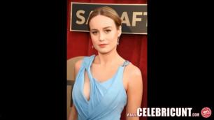 Celebrities Nude Stunning Babe Brie Larson Captain Marvel