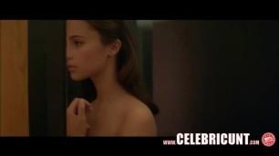 Alicia Vikander Nude Celebrity Pussy