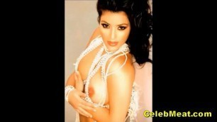 Kim Kardashian Nude Celeb Hall of Famer Shaved Pussy