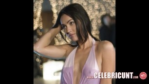 Hot Celeb Babe Megan Fox Nude Topless and Horny