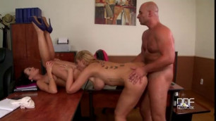 Pattty Michova Time To Celebrate Two Brunette Goddesses Get Laid By Boss
