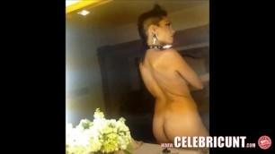 Gorgeous Black MILF Rosario Dawson Shaved Pussy Celebrity Nude