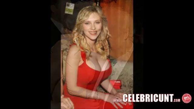 Nude celebrities caught on tape - scarlett johansson