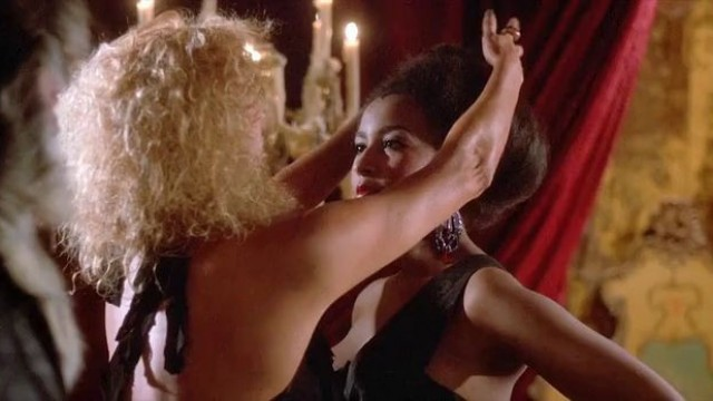 Sexy celebrities Sybil Danning nude, Marsha A. Hunt nude - Howling 2 (1985)