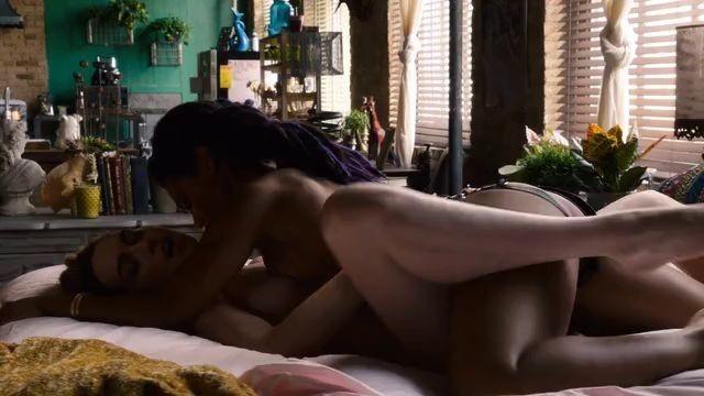 Freema Agyeman nude Jamie Clayton nude celebrities Sense8 s01e01 2015