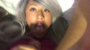 Asian Trap Teen self Facials