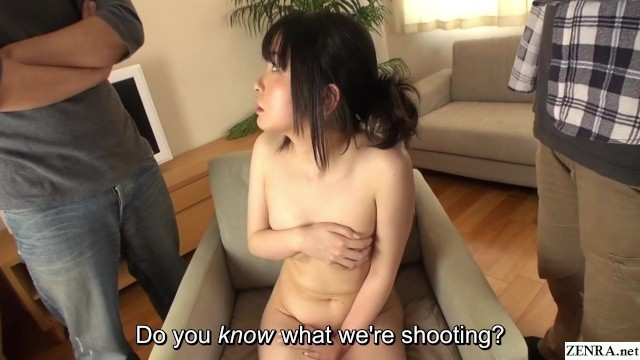 Embarrassed and Naked JAV Assistant Director CMNF Subtitled