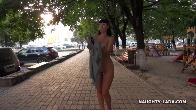Nude on the Public Street