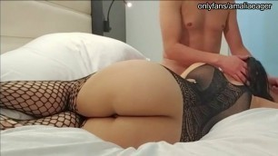 Amalia Eager: Eating my beautiful booty lover's pussy