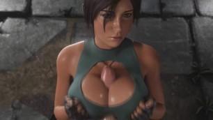 Lara Croft Titfuck (Animation With Sound)