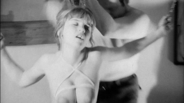 Vintage big tits model slapped and whipped