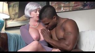 Horny sex teacher with black student