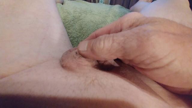 Micro penis and My Tiny Ballsack Play!