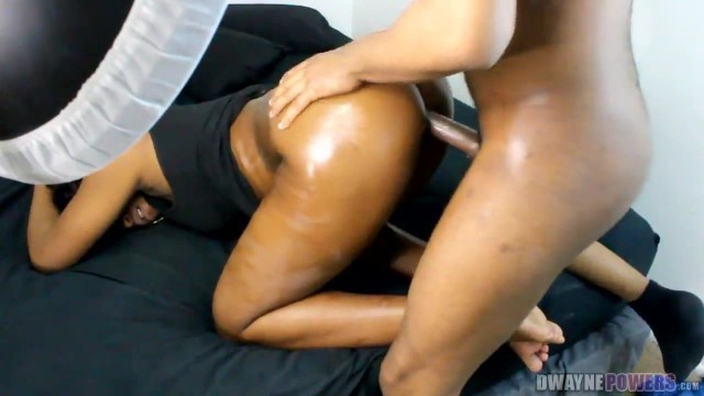 Fucking the Ebony Stripper