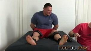 Naked feet  gay Wrestler 'Specimen' turns out to be