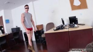 Straight  boy naked gay Lance's Big Birthday Surprise