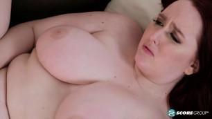 Ginger BBW anal