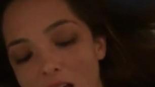 Pretty girl swallowing her boyfriend's cum